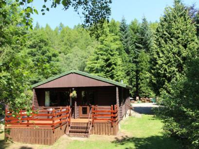 Vorlioch Log Cabin-Schotlandreizen