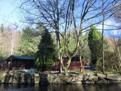 Lednock Log Cabin-Schotlandreizen